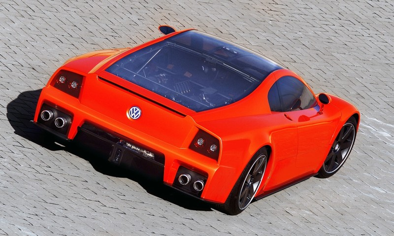 2001 Volkswagen W12 Coupe Concept Introduces Huge Engine and Hypercar Performance to VW Lore 8