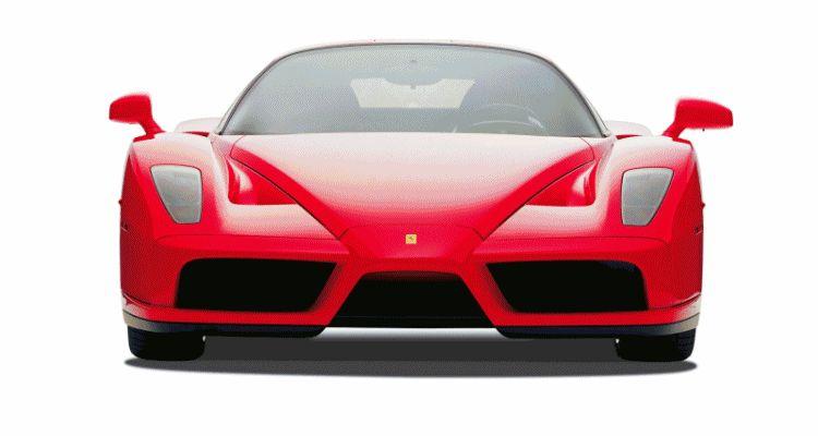 2003 Enzo Ferrari in 77 Original Maranello Launch header gif