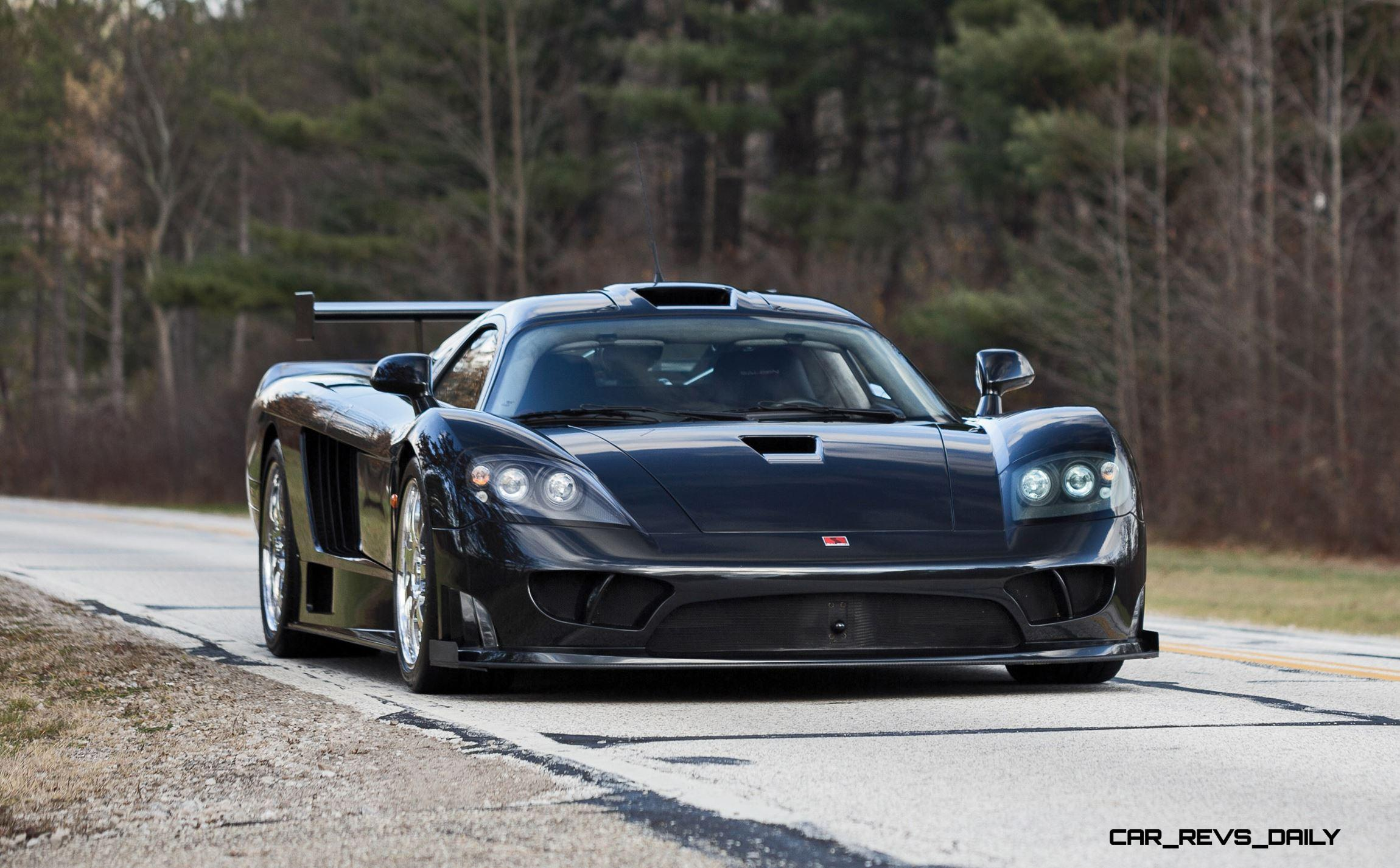 3 3s 850hp 2005 Saleen S7 Twin Turbo Competition Package
