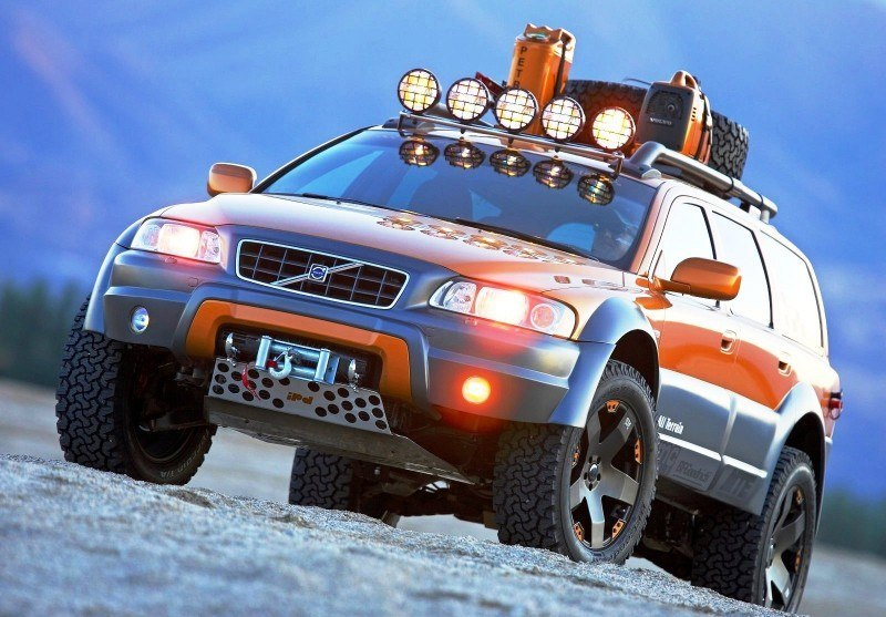 2005 Volvo XC70 AT and 2007 XC70 Surf Rescue are California Surf'n'Turf Dreams 1