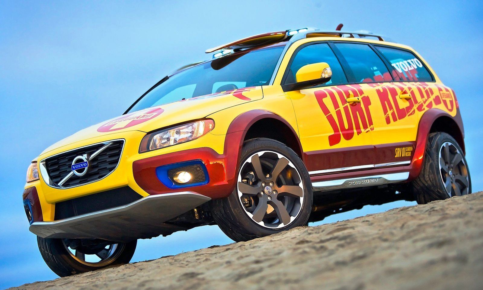 2005 Volvo XC70 AT and 2007 XC70 Surf Rescue are California Surf'n'Turf Dreams 15