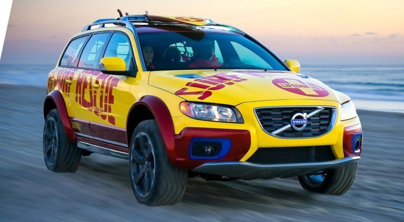 2005 Volvo XC70 AT and 2007 XC70 Surf Rescue are California Surf'n'Turf Dreams 16