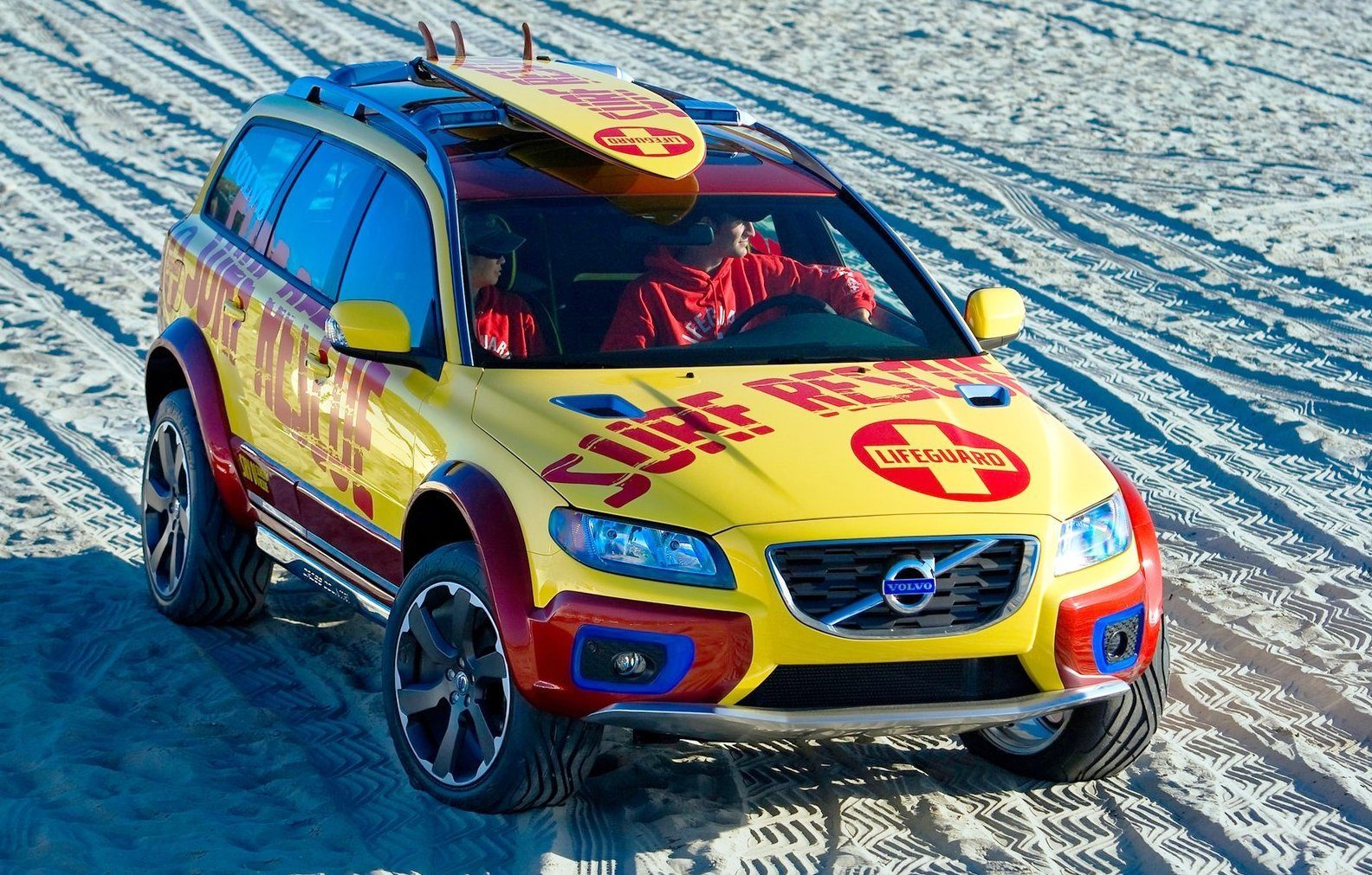 2005 Volvo XC70 AT and 2007 XC70 Surf Rescue are California Surf'n'Turf Dreams 18