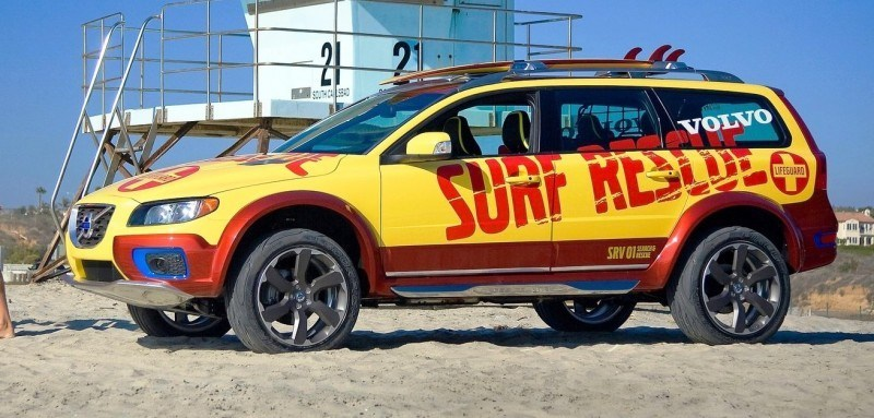 2005 Volvo XC70 AT and 2007 XC70 Surf Rescue are California Surf'n'Turf Dreams 23