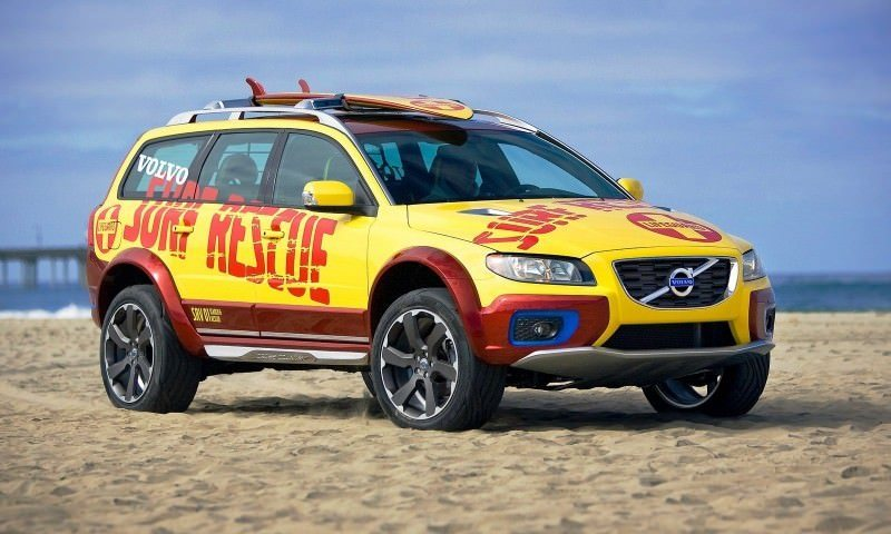 2005 Volvo XC70 AT and 2007 XC70 Surf Rescue are California Surf'n'Turf Dreams 24
