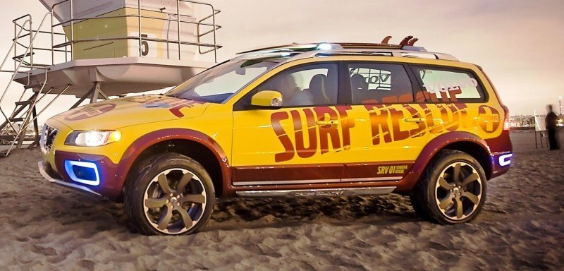 2005 Volvo XC70 AT and 2007 XC70 Surf Rescue are California Surf'n'Turf Dreams 25