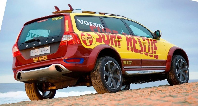 2005 Volvo XC70 AT and 2007 XC70 Surf Rescue are California Surf'n'Turf Dreams 27