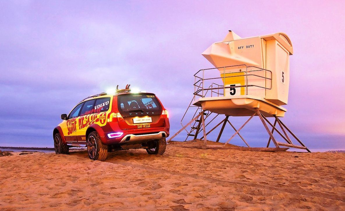2005 Volvo XC70 AT and 2007 XC70 Surf Rescue are California Surf'n'Turf Dreams 28