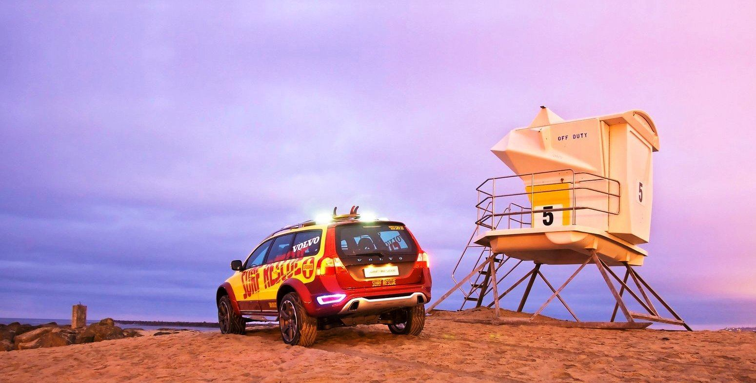 2005 Volvo XC70 AT and 2007 XC70 Surf Rescue are California Surf'n'Turf Dreams 29