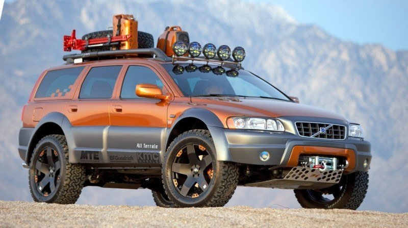 2005 Volvo XC70 AT and 2007 XC70 Surf Rescue are California Surf'n'Turf Dreams 3