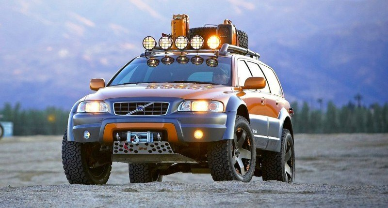 2005 Volvo XC70 AT and 2007 XC70 Surf Rescue are California Surf'n'Turf Dreams 4