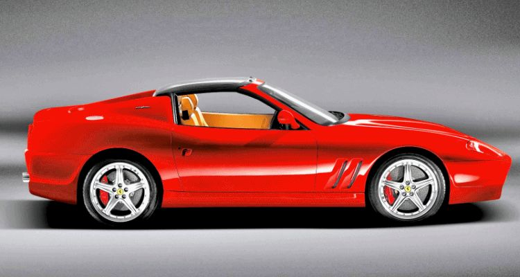 2006 Ferrari 575 SuperAmerica gif