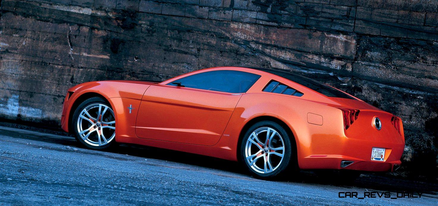 2006 Giugiaro Ford Mustang Concept Was Ringer vs In-House Ford Designs 13