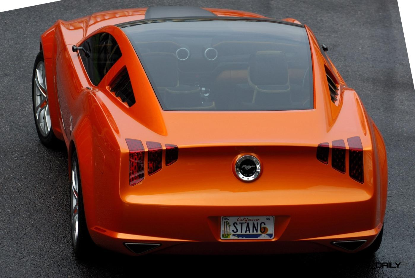 2006 Giugiaro Ford Mustang Concept Was Ringer vs In-House Ford Designs 16