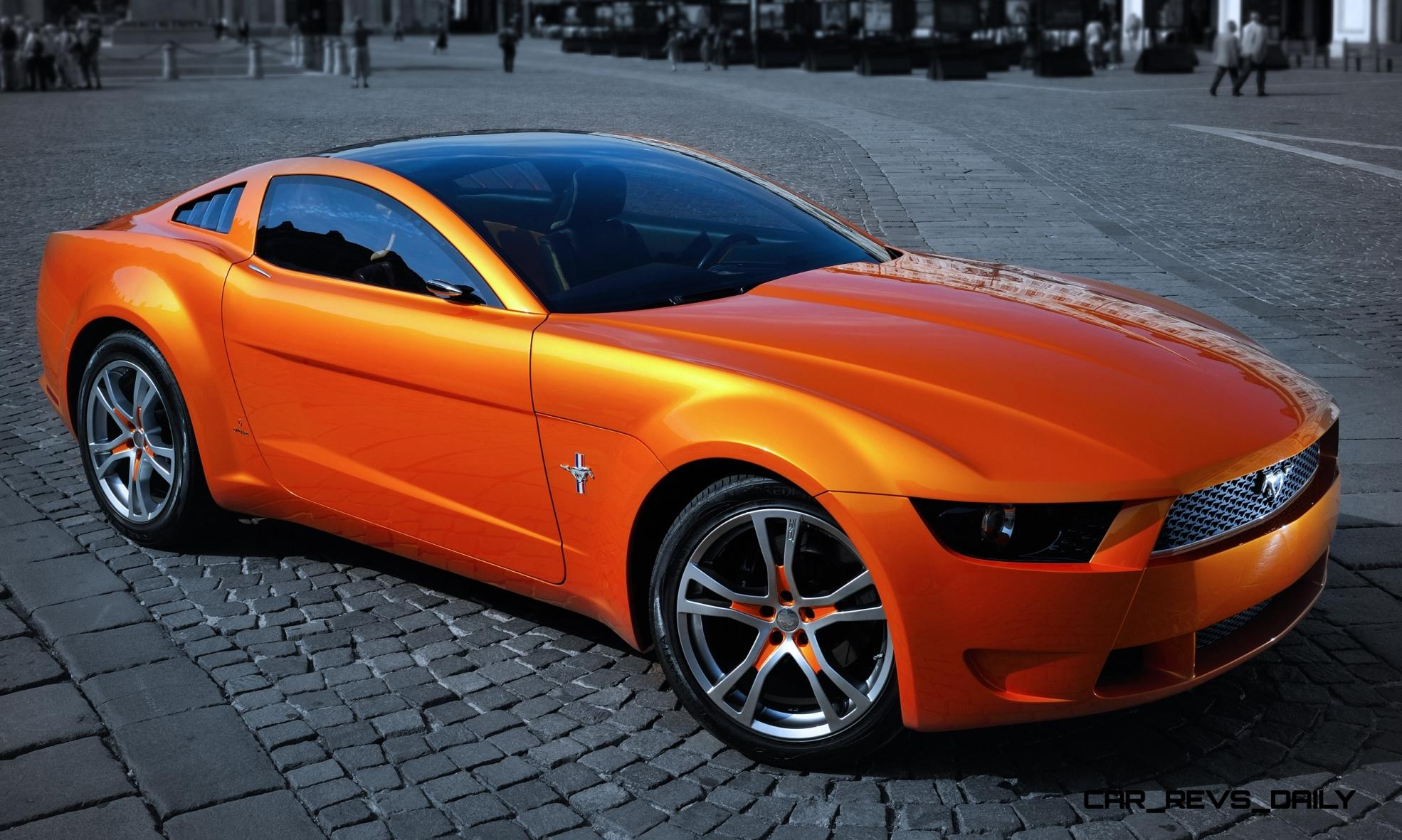 2006 Giugiaro Ford Mustang Concept Was Ringer vs In-House Ford Designs