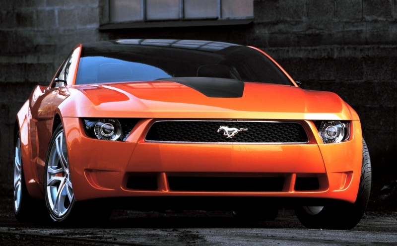 Ford Mustang Mach 1 >> 2006 Giugiaro Ford Mustang Concept Was Ringer vs In-House ...
