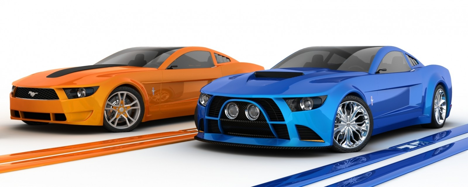 2006 Giugiaro Ford Mustang Concept Was Ringer vs In-House Ford Designs 6