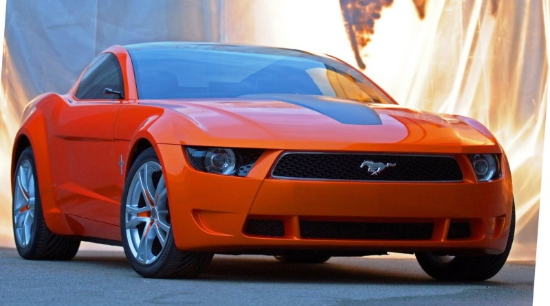 2006 Giugiaro Ford Mustang Concept Was Ringer vs In-House Ford Designs 8