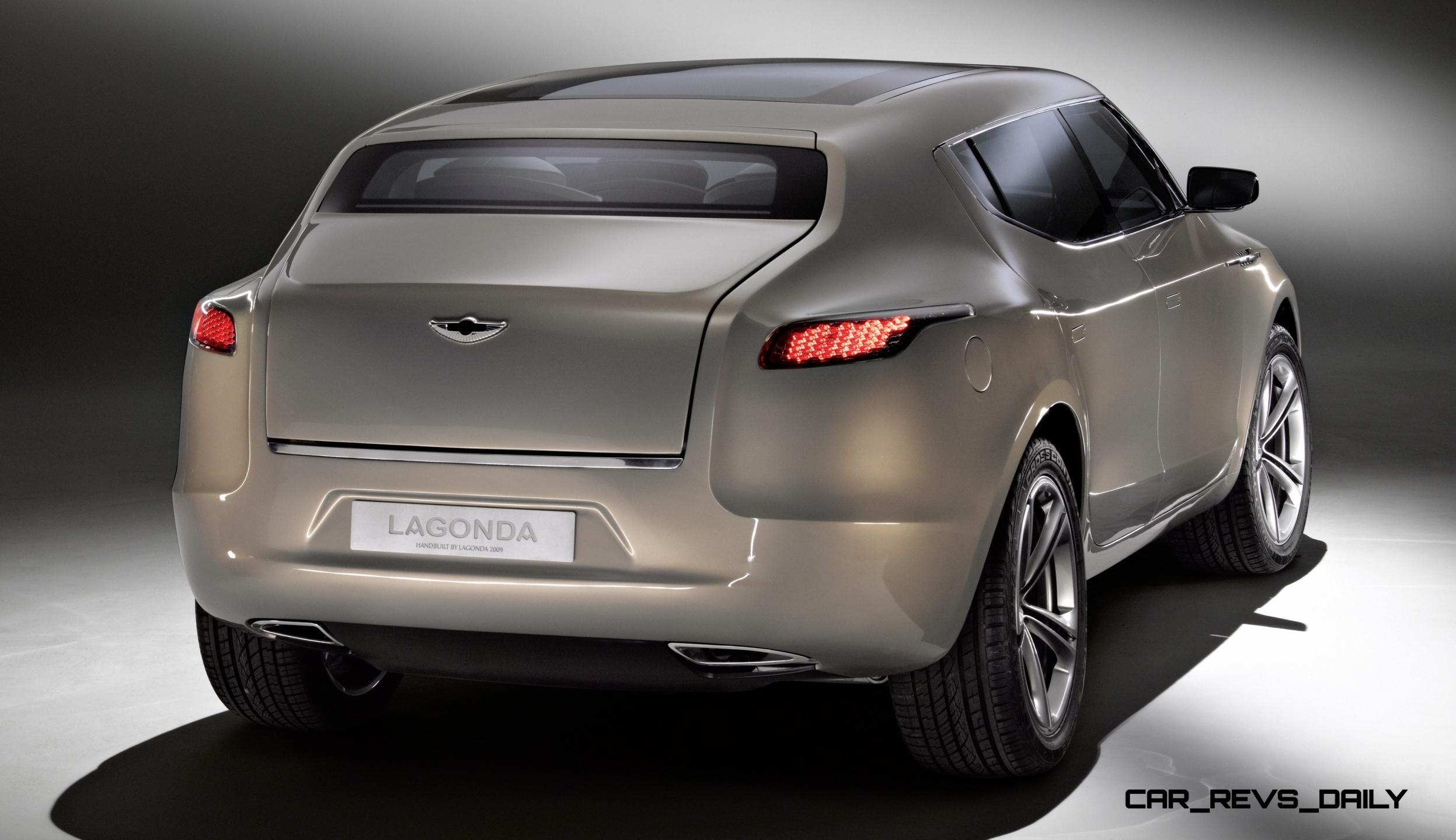 Concept Debrief 2009 Aston Martin Lagonda Suv Concept