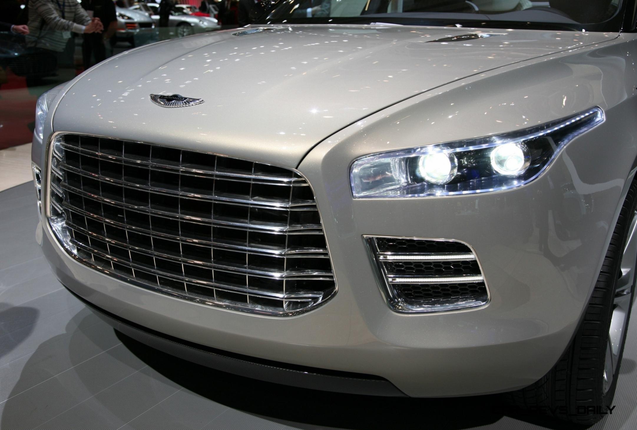 Digital Renderings Fix the 2009 Aston Martin LAGONDA SUV Concept