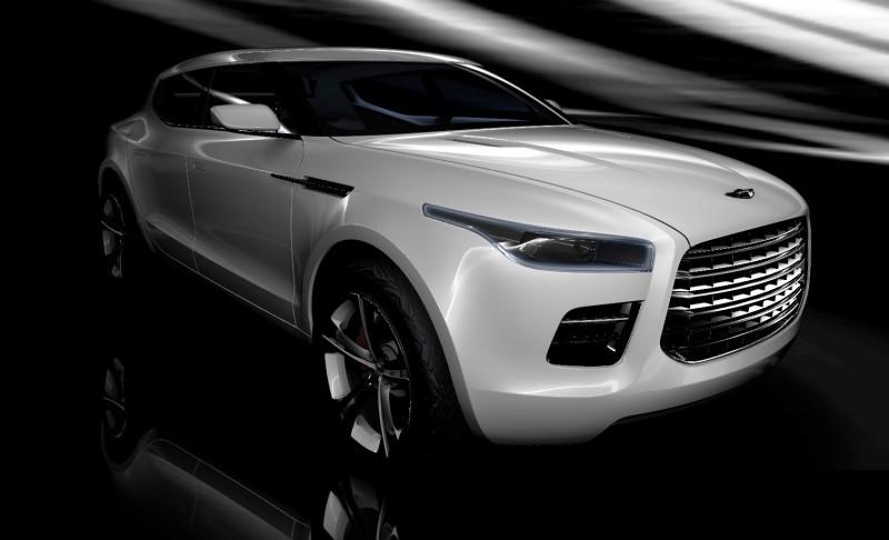2009 Aston Martin LAGONDA SUV Concept 8