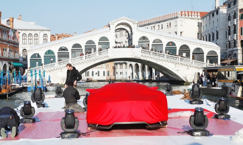 2009 Citroen GTbyCitroen Becomes Working Media and Live Art Installation in Venice 11
