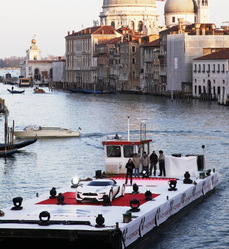 2009 Citroen GTbyCitroen Becomes Working Media and Live Art Installation in Venice 19