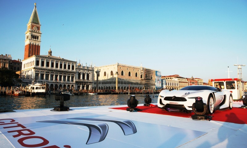 2009 Citroen GTbyCitroen Becomes Working Media and Live Art Installation in Venice 9