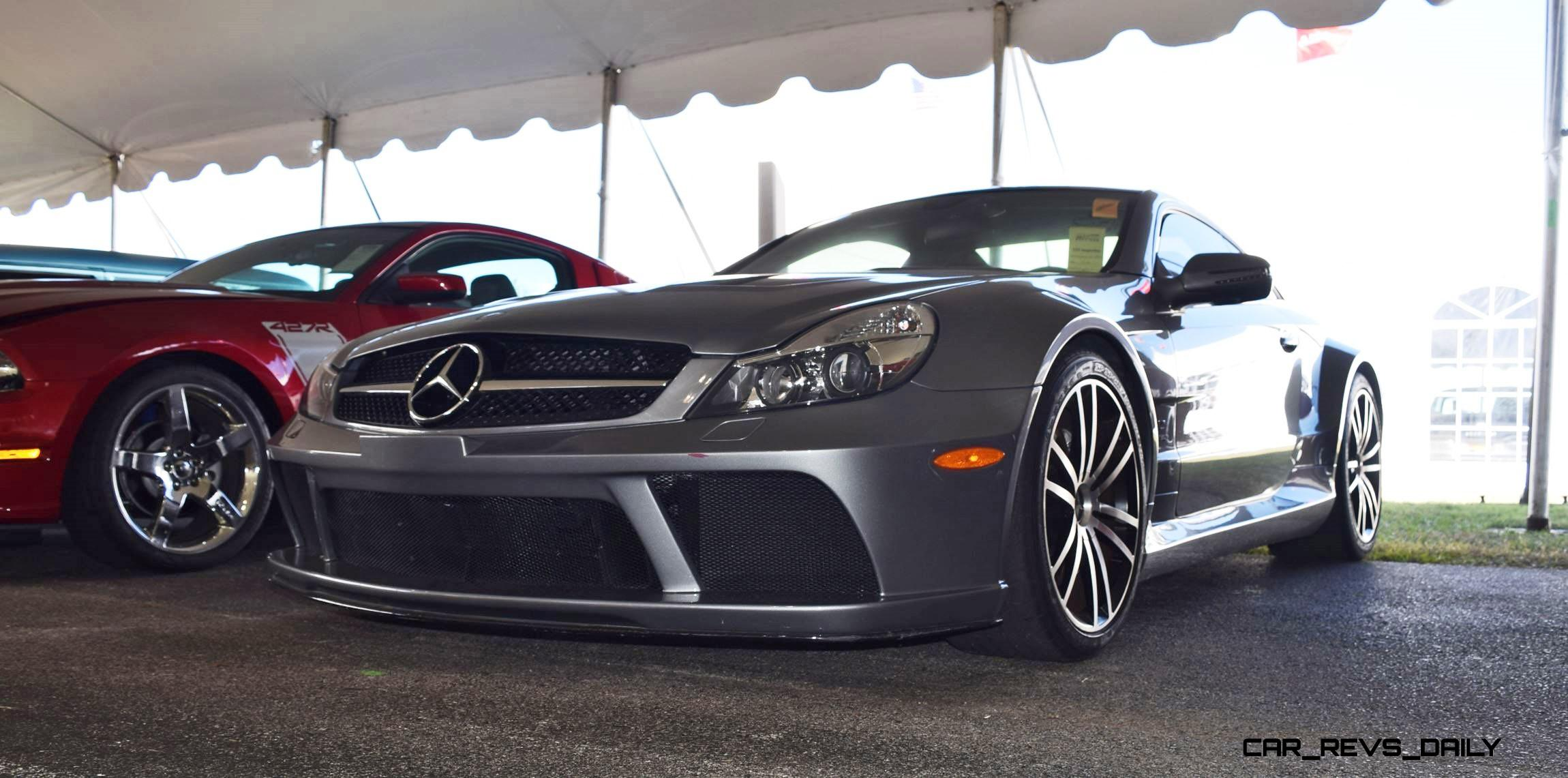 mecum 2016 2009 mercedes benz sl65 amg black series. Black Bedroom Furniture Sets. Home Design Ideas