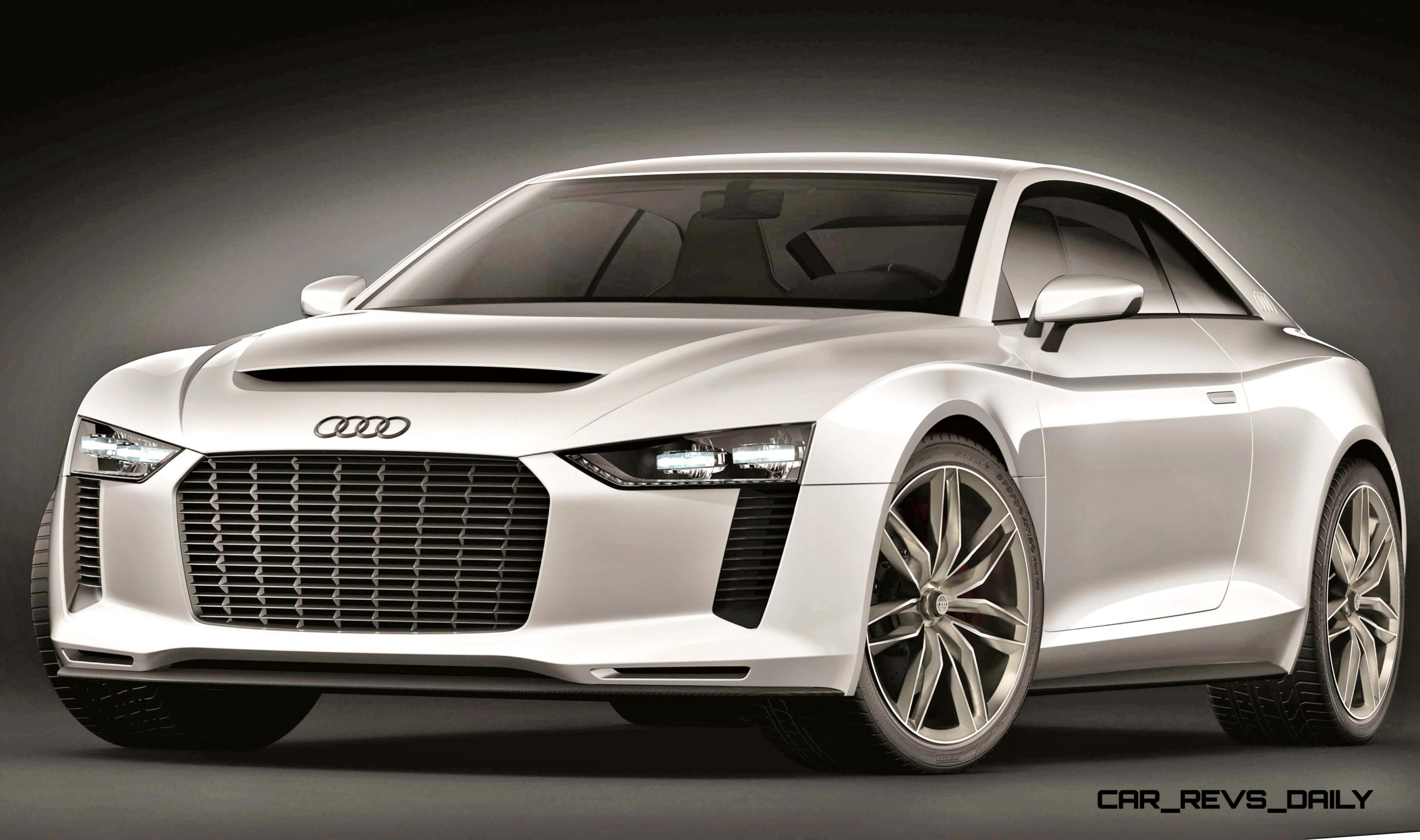 2010 Audi Quattro Concept in 50 High-Res Photos and LED ...