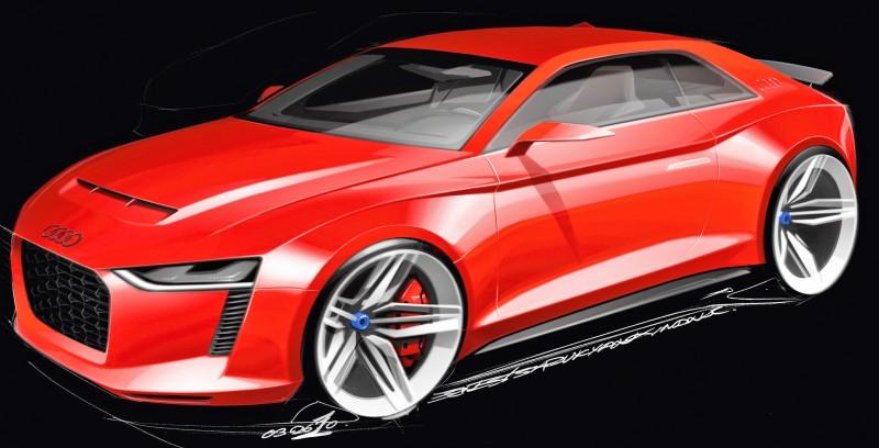 Audi quattro concept/Design
