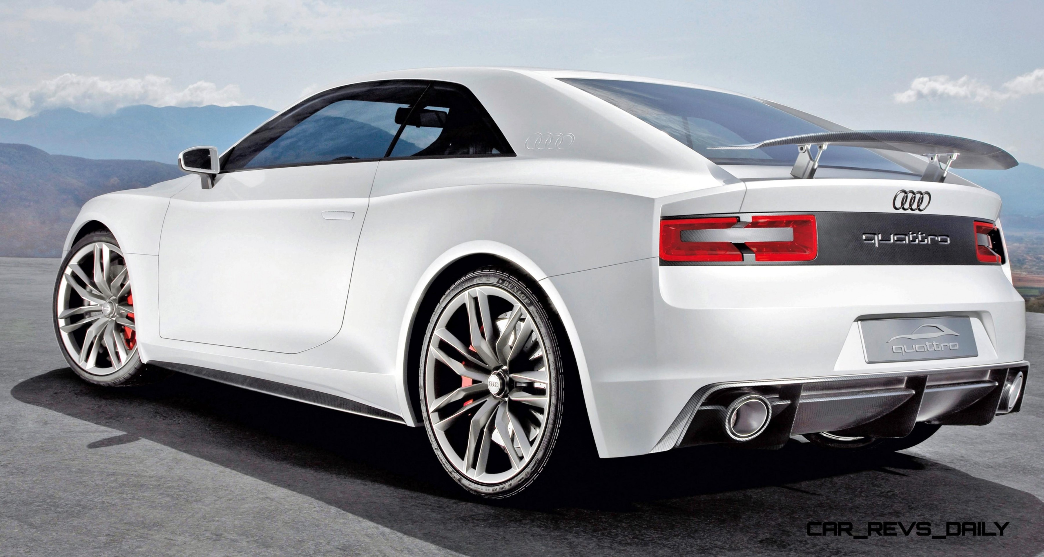 2010 Audi Quattro Concept In 50 High Res Photos And LED