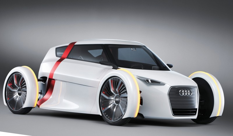 Audi Urban Concept SPYDER Is Seater For ScooterPhobes - About audi car