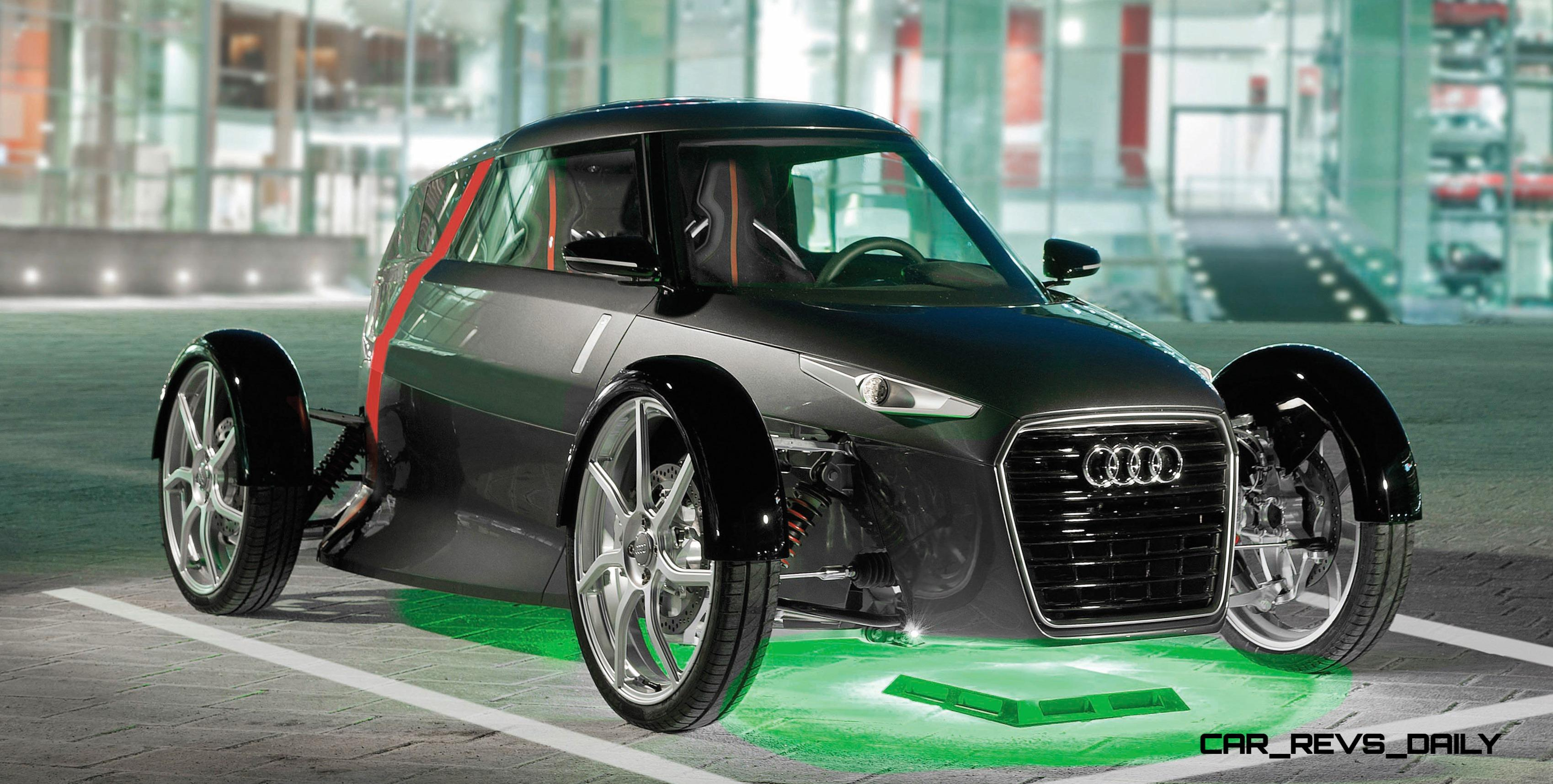 2011 Audi Urban Concept Is 2 Seat Commuter Ev For Stylish