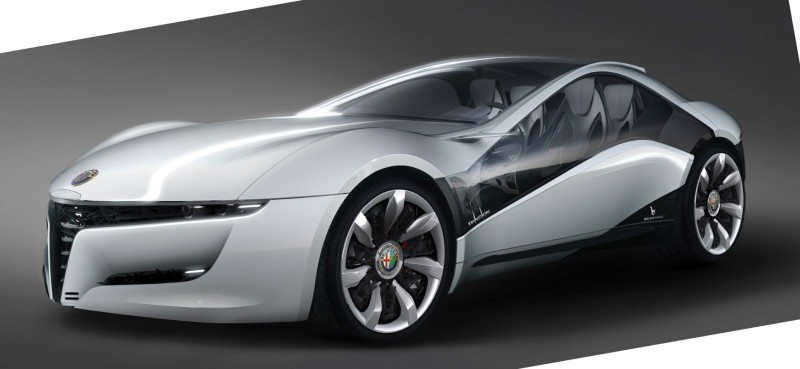2010 BERTONE Pandion for Alfa-Romeo Is Next-Level Brilliance Inside and Out 10