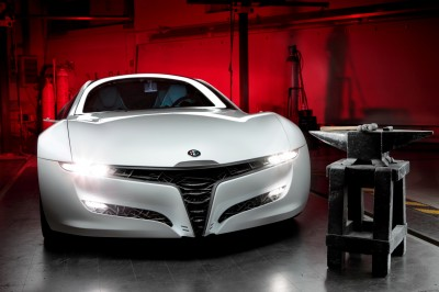 2010 BERTONE Pandion for Alfa-Romeo Is Next-Level Brilliance Inside and Out 36