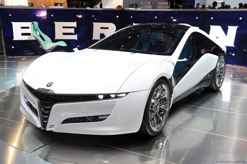 2010 BERTONE Pandion for Alfa-Romeo Is Next-Level Brilliance Inside and Out 4