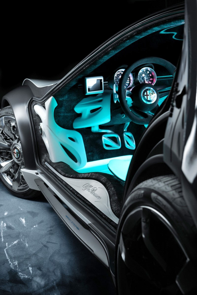 2010 BERTONE Pandion for Alfa-Romeo Is Next-Level Brilliance Inside and Out 68