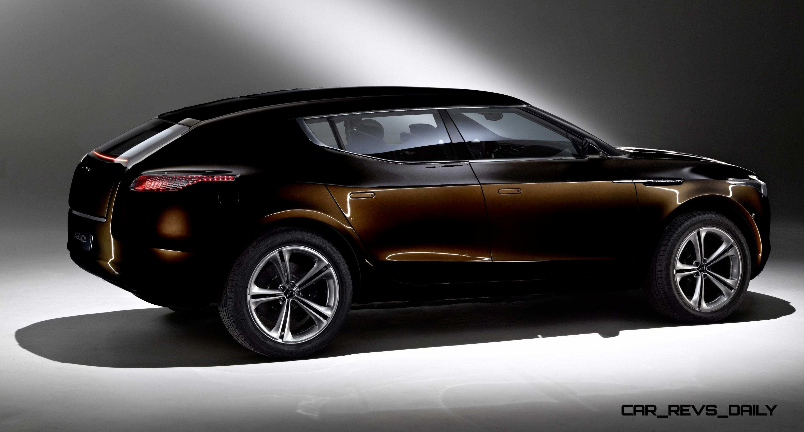 digital renderings fix the 2009 aston martin lagonda suv concept. Black Bedroom Furniture Sets. Home Design Ideas