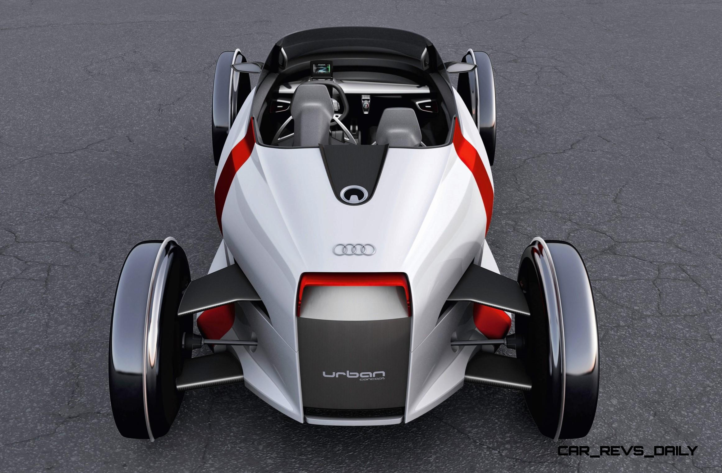 2011 Audi Urban Concept Spyder Is 2 Seater For Scooter Phobes