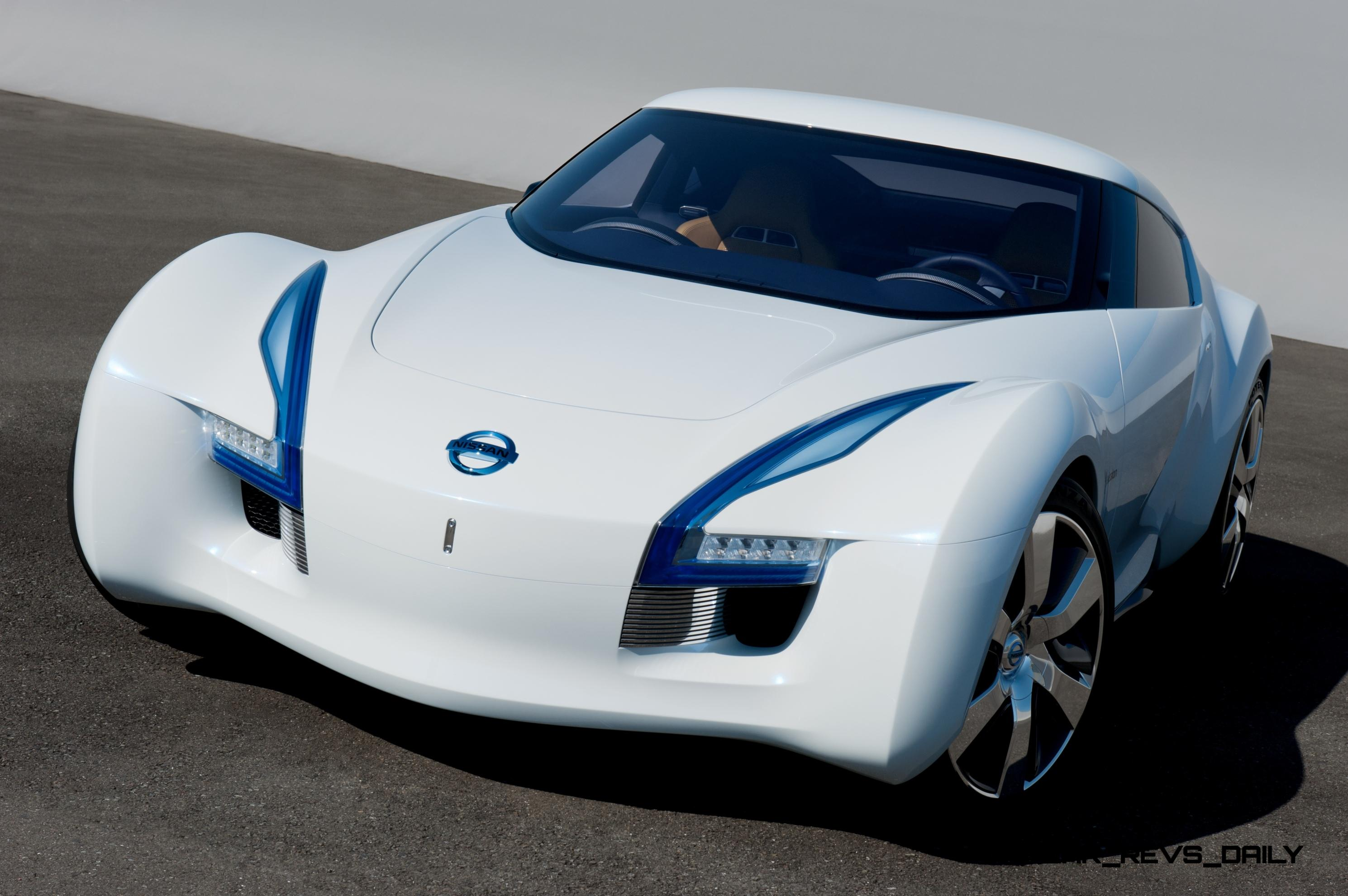 concept flashback   2011 nissan esflow showed potential ev mini z