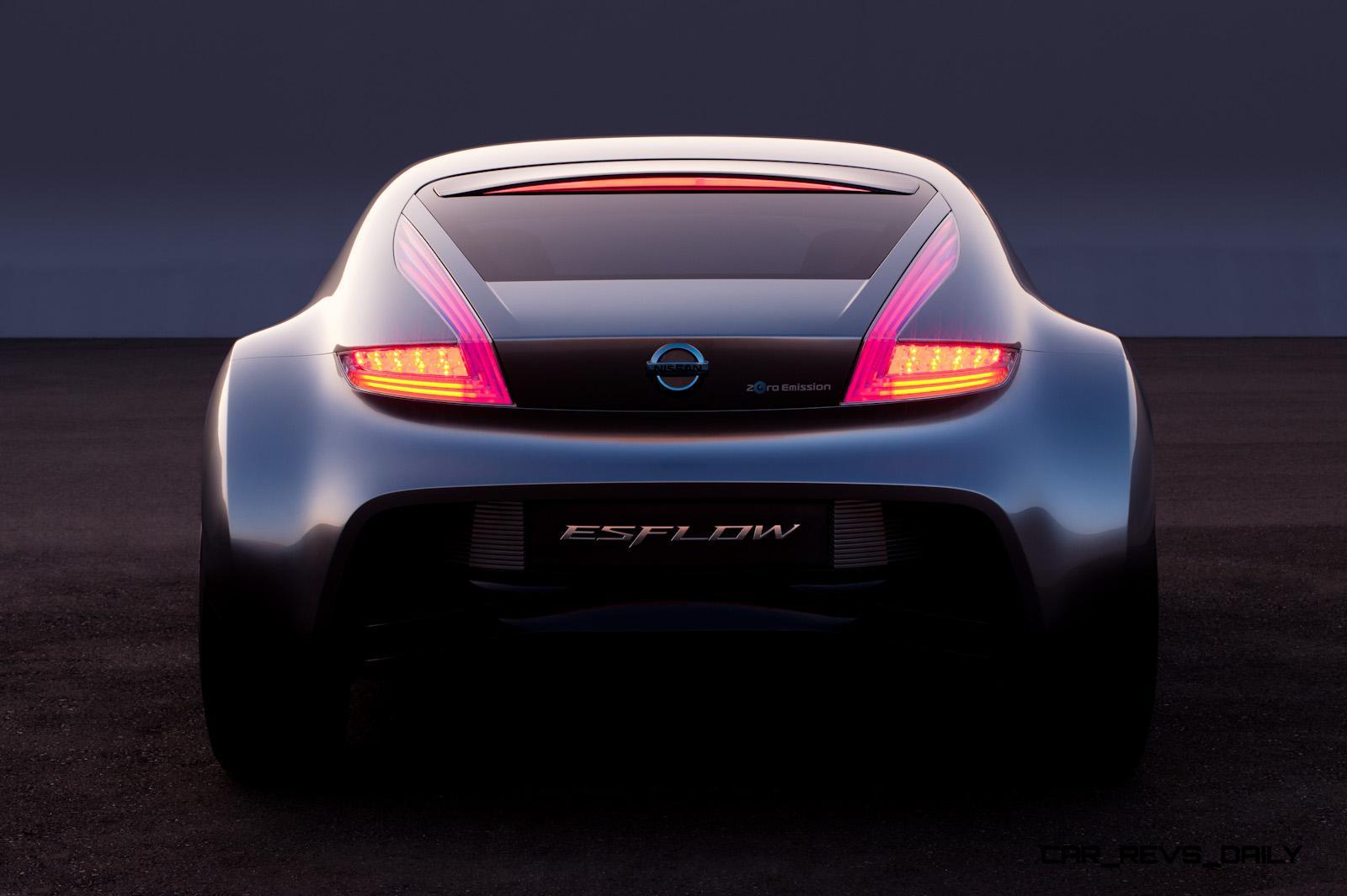 Concept Flashback 2011 Nissan Esflow Showed Potential Ev
