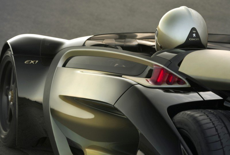 2011 Peugeot EX1 is Part EV, Part Quad-Bike and Part Track-Day Supercar 13