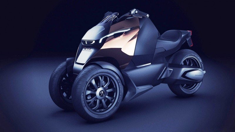 2011 Peugeot EX1 is Part EV, Part Quad-Bike and Part Track-Day Supercar 33