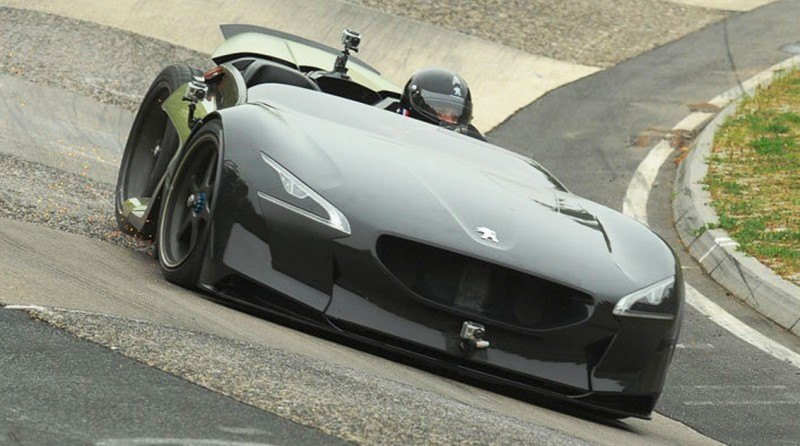 2011 Peugeot EX1 is Part EV, Part Quad-Bike and Part Track-Day Supercar 37