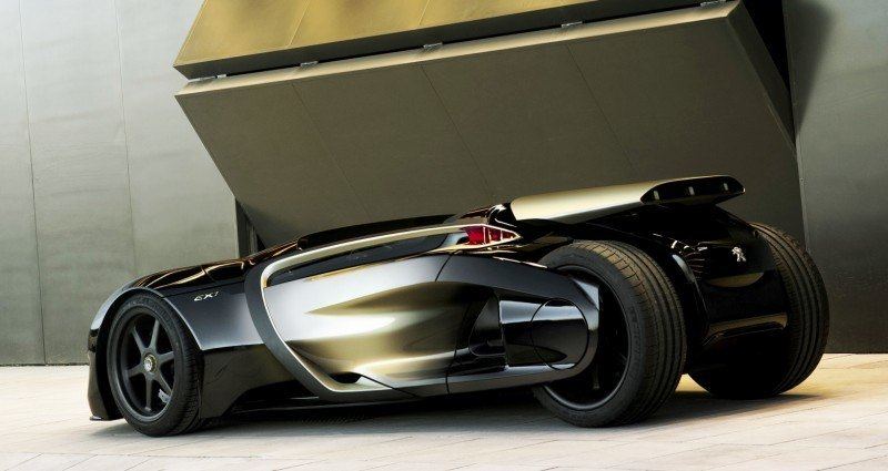 2011 Peugeot EX1 is Part EV, Part Quad-Bike and Part Track-Day Supercar 6