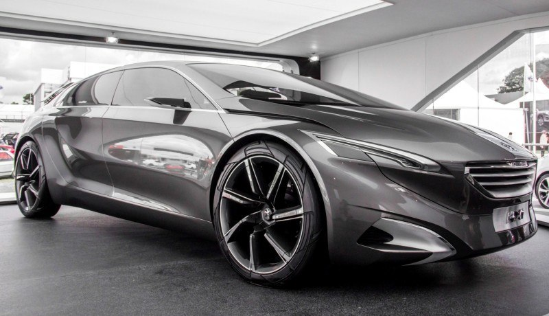 2011 Peugeot HX1 Concept Shows Sumptuous Detailing and Scale, But Front-Drive Proportions 11