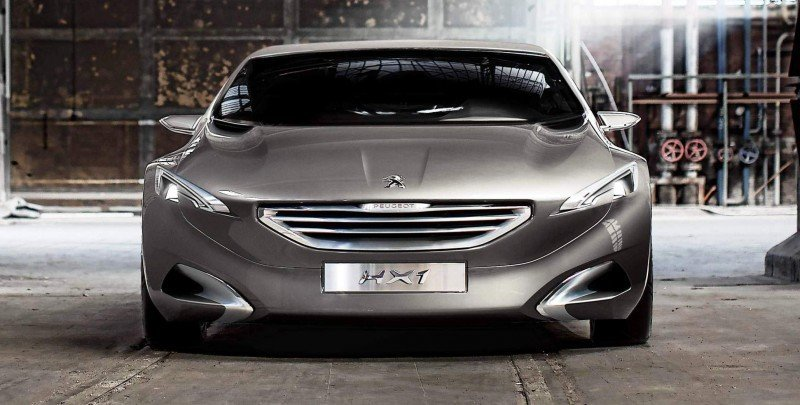 2011 Peugeot HX1 Concept Shows Sumptuous Detailing and Scale, But Front-Drive Proportions 12