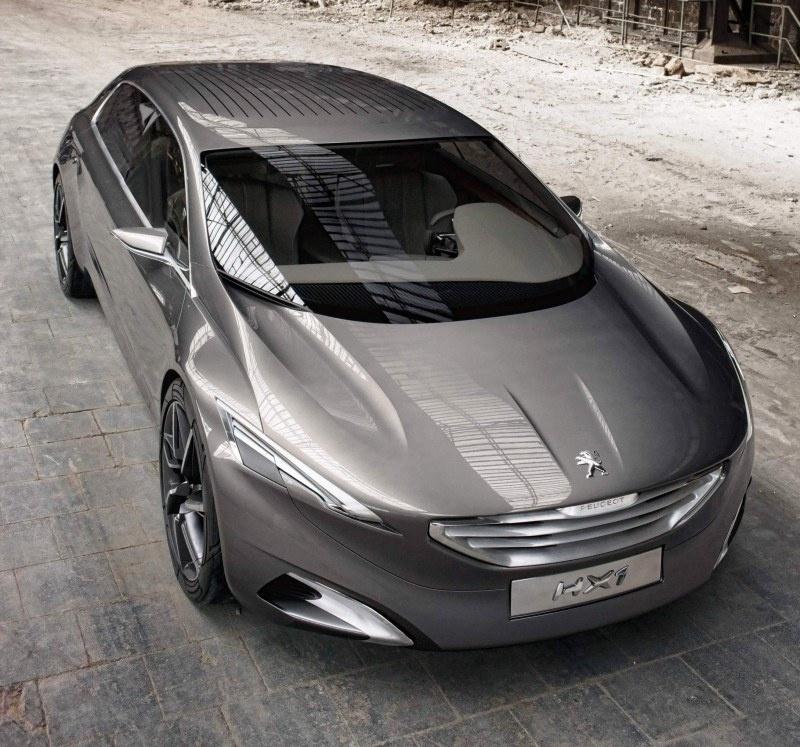 2011 Peugeot HX1 Concept Shows Sumptuous Detailing and Scale, But Front-Drive Proportions 13