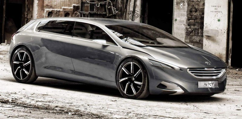 2011 Peugeot HX1 Concept Shows Sumptuous Detailing and Scale, But Front-Drive Proportions 14